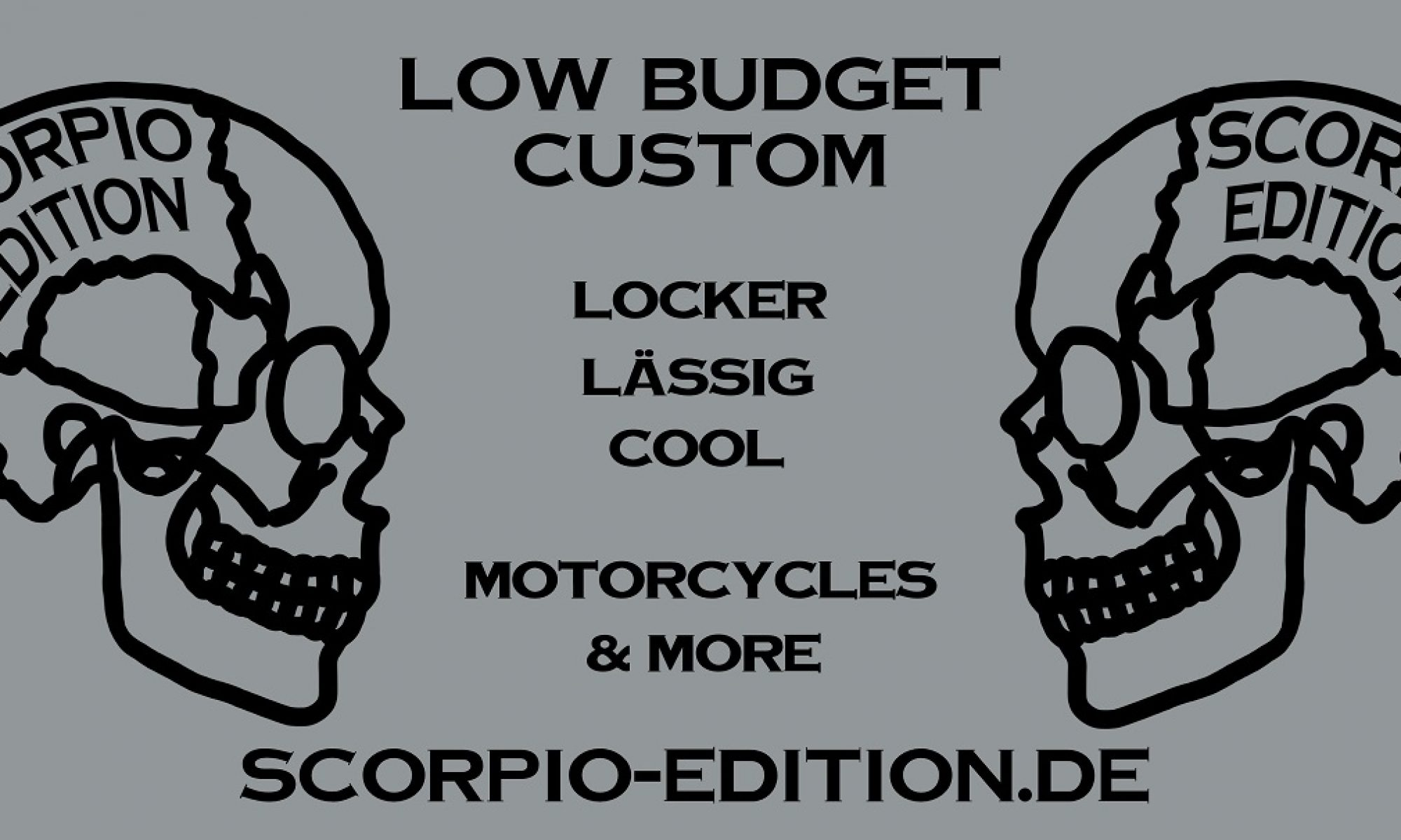 low budget custom by scorpio